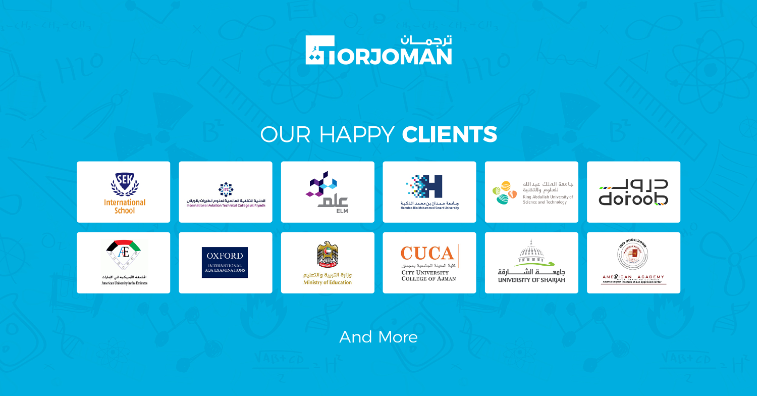 Torjoman translation services company in Dubai