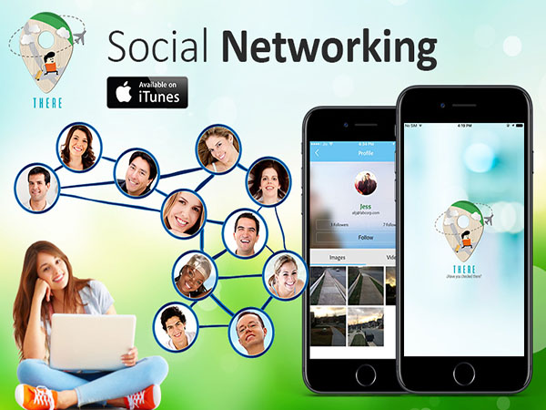 SOCIAL NETWORKING APP - THERE APP