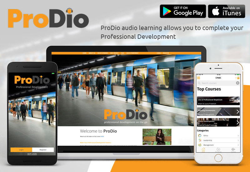 ProDio : Audio Learning App for Android and iOS User