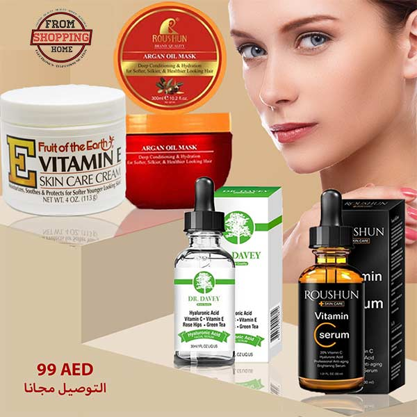Skin and Body Offer 4 products for 99 AED